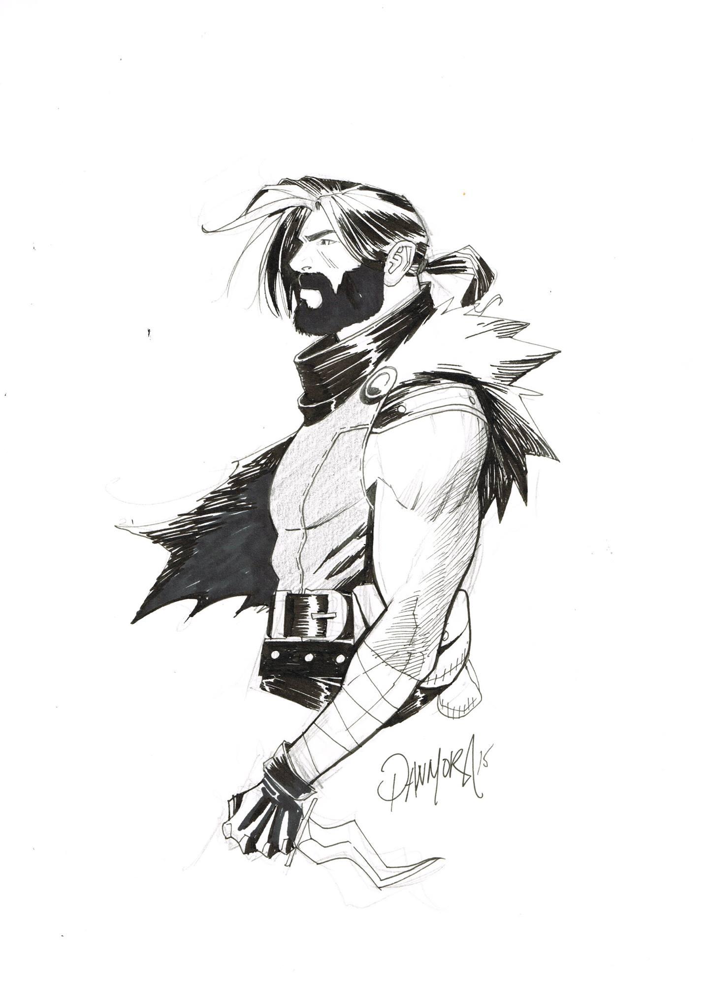 Dan Mora – Klaus convention sketch