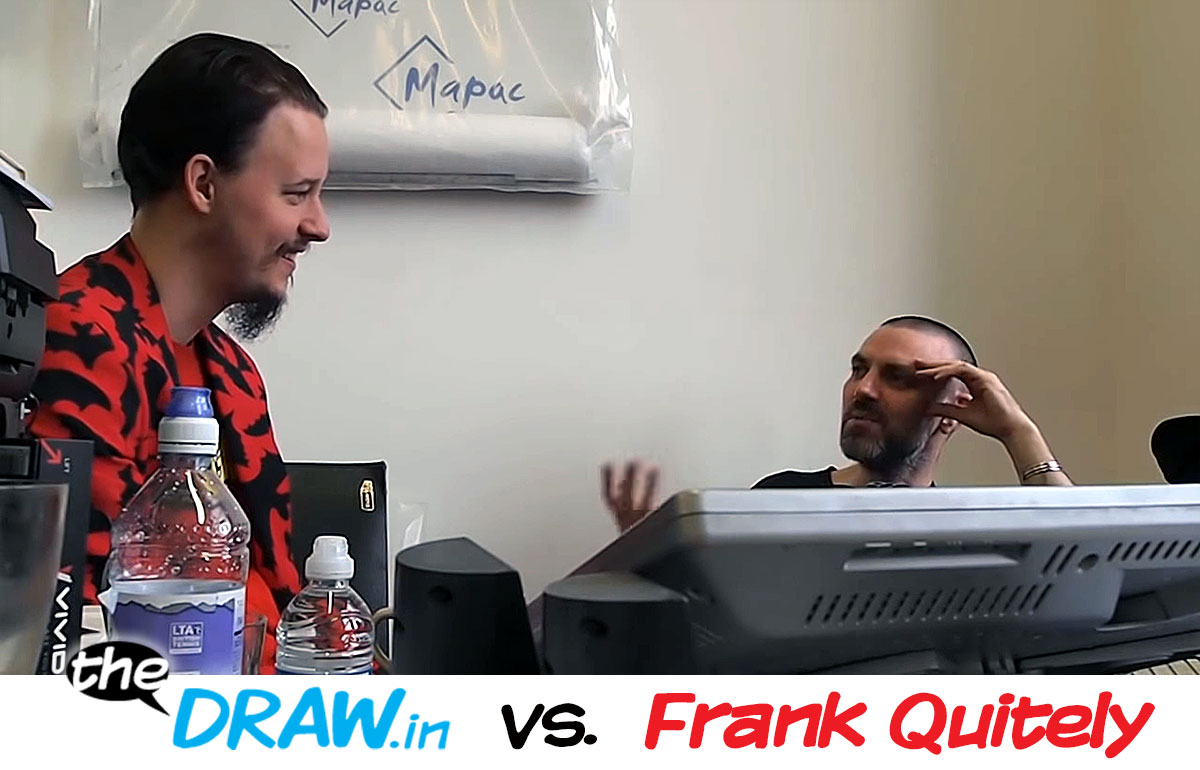 theDRAW.in vs. Frank Quitely