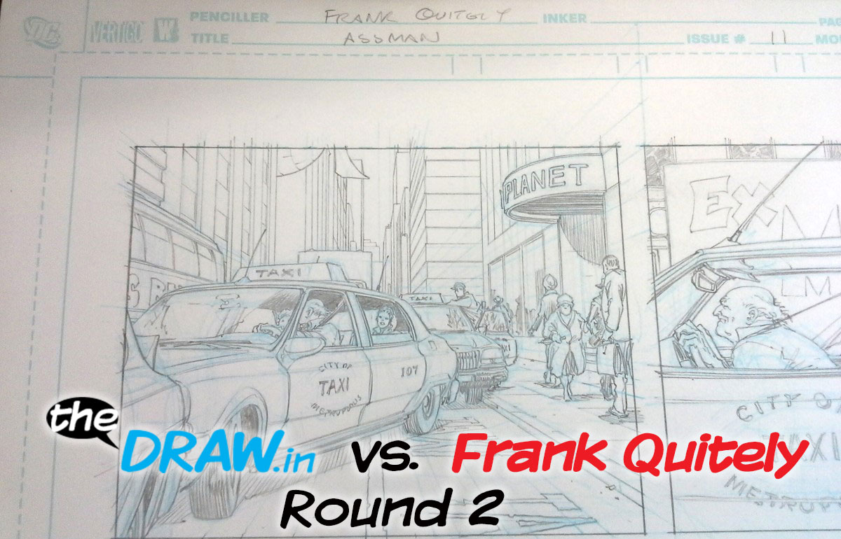 theDRAW.in vs Frank Quitely – Round 2