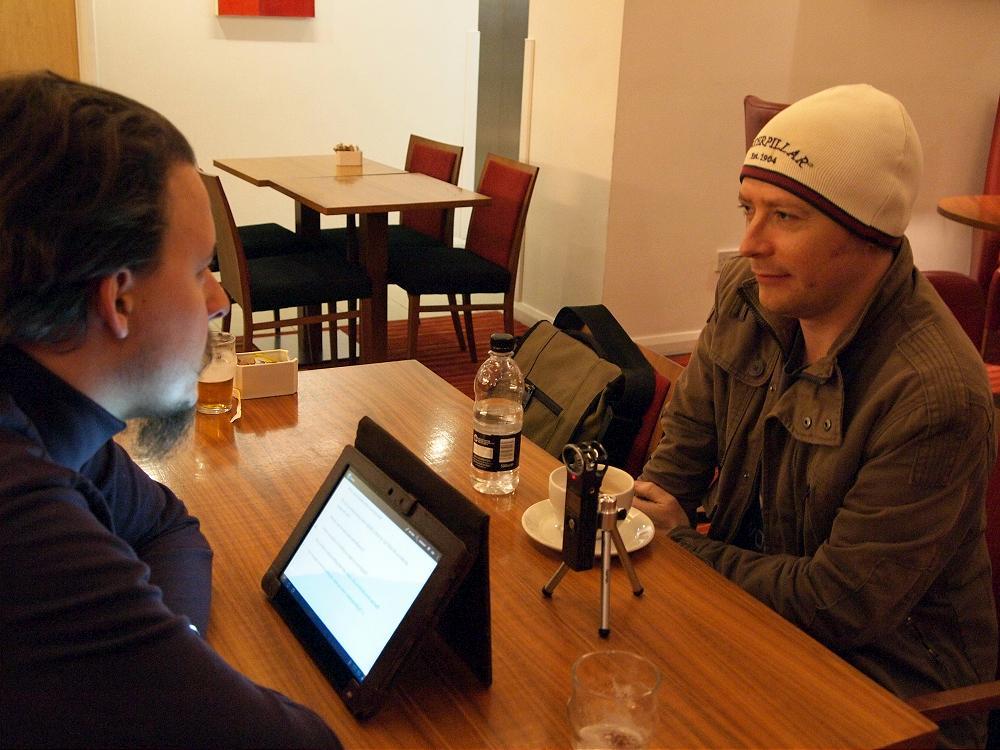 Interviewing an exceptional artist: Frazer Irving