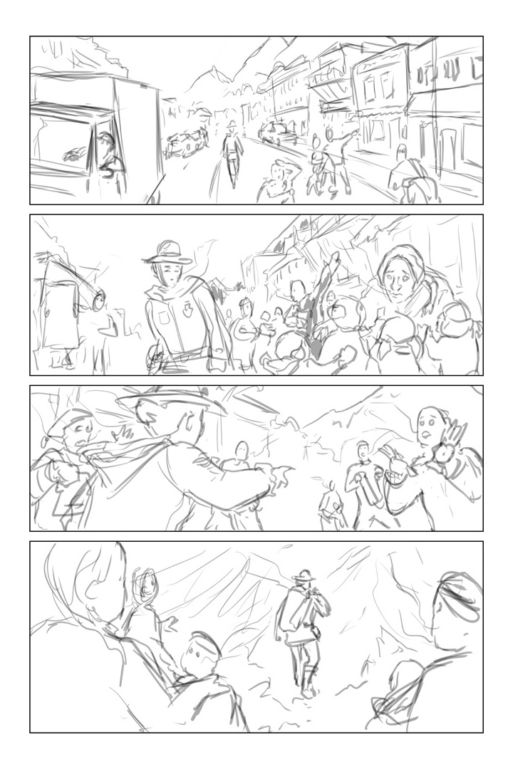Process page for Broken Frontier
