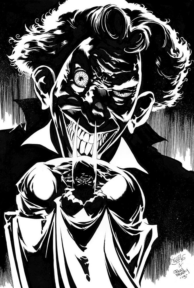Pencils by Kelley Jones with inks by John Beatty