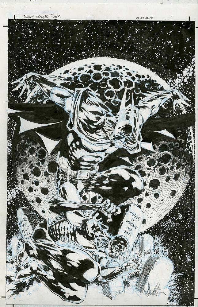 Kelley Jones – Justice League Dark #33 cover