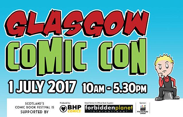 Glasgow Comic Con 2017
