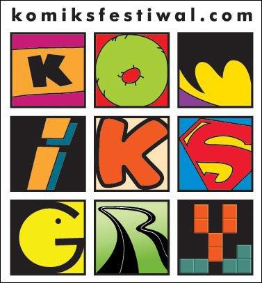 Lodz Comics Festival – Logo