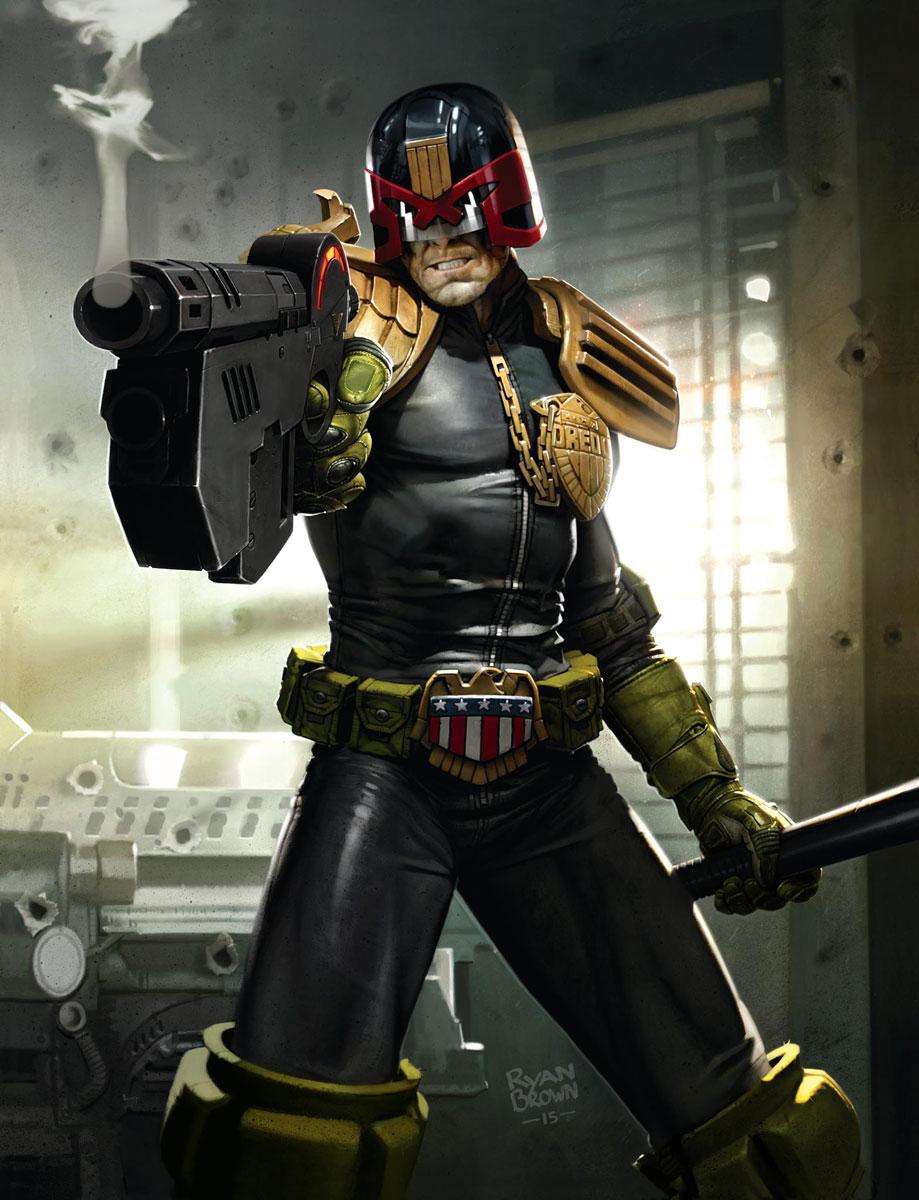 Ryan Brown – Judge Dredd