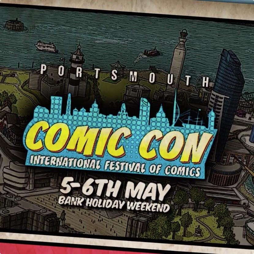 Portsmouth Comic Con Social Media Video
