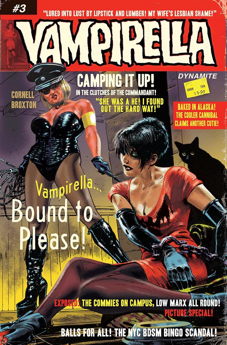 Vampirella #3 cover