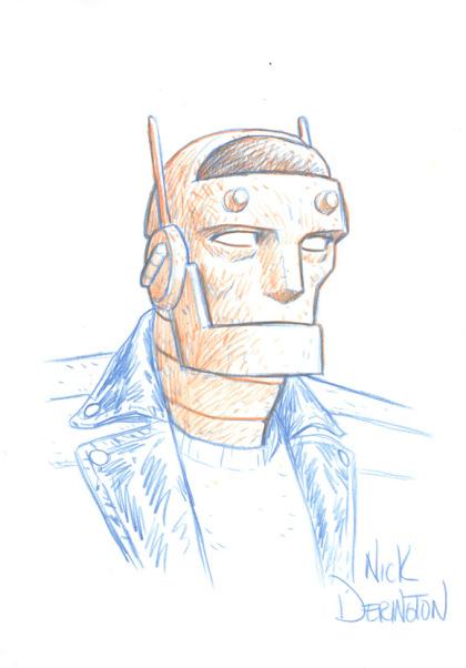 Nick Derington – Robotman