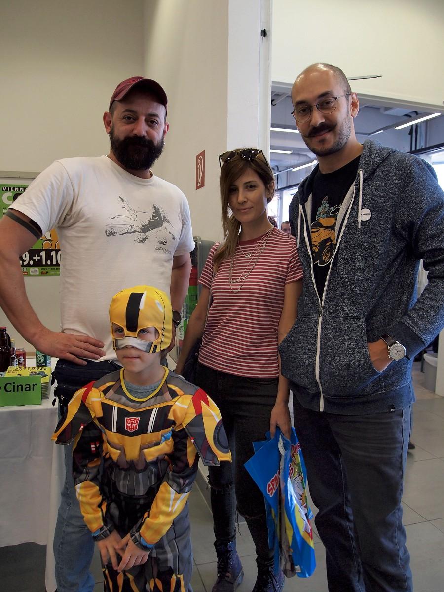 Yildiray with the Asrar Family